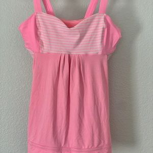 LuluLemon  Sports Bra top Size 10